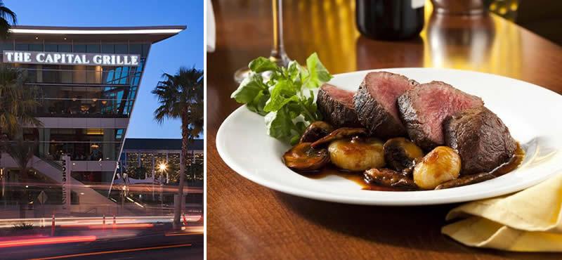 The Capital Grille restaurant Las Vegas