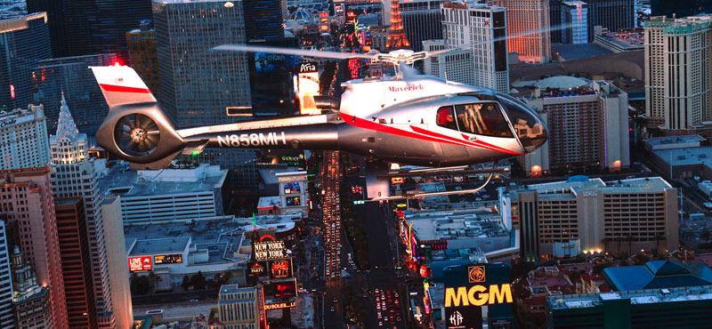 Deluxe Las Vegas Helicopter Night Flight